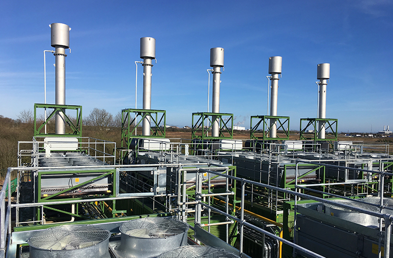 industrial cooling for power station