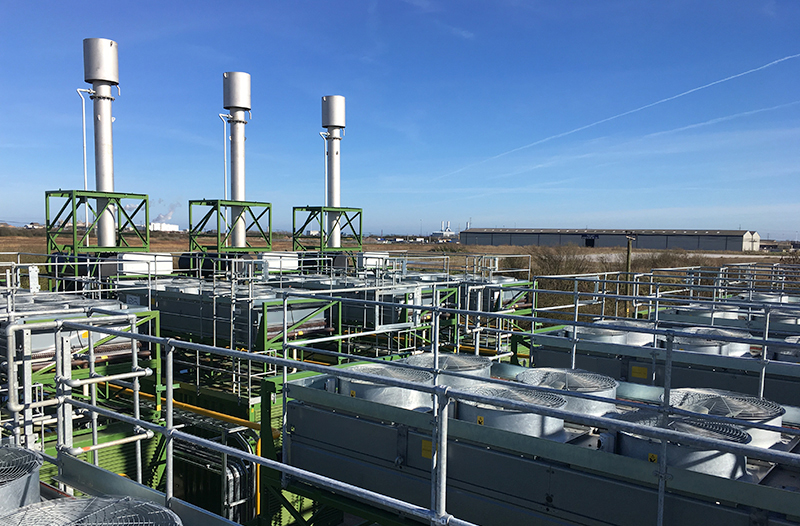 industrial cooling for a power station