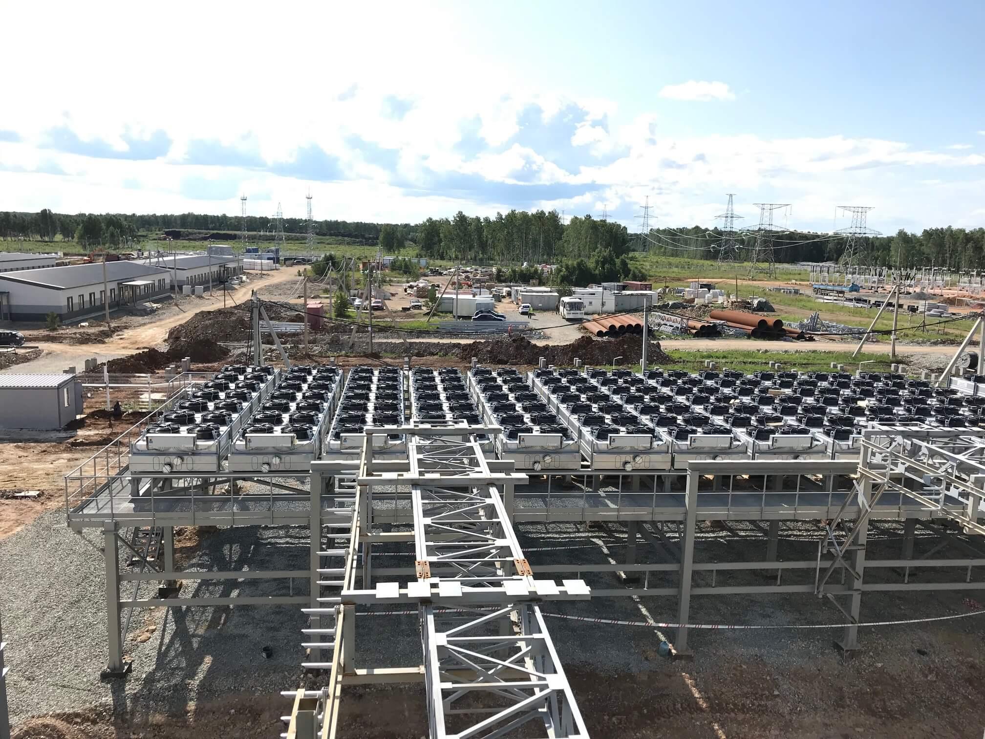 gas generator site installation and design