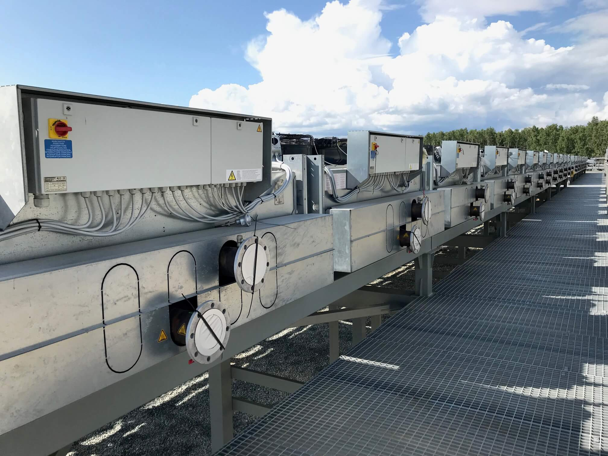 gas generator cooling solution Russia