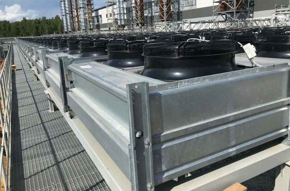 dry cooler installation