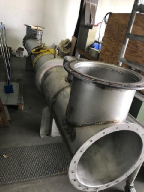 Exhaust gas heat exchangers Cummins QSV91 and QSK60
