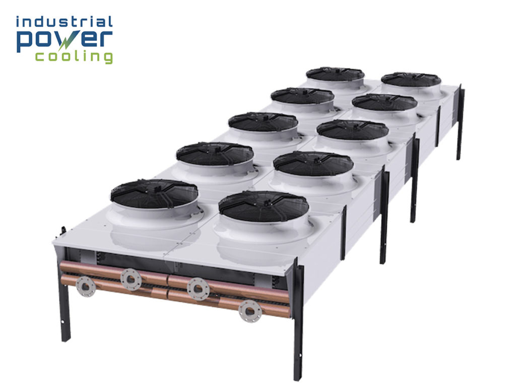 flat bed dry air cooler