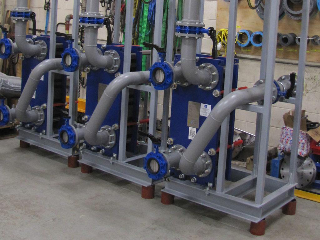 IPC pipework close up