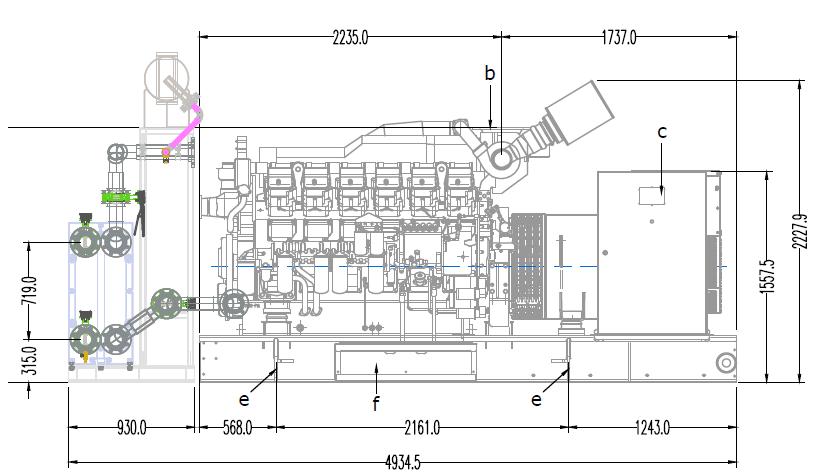 AVK Himoinsa Gen blueprints and bespoke design