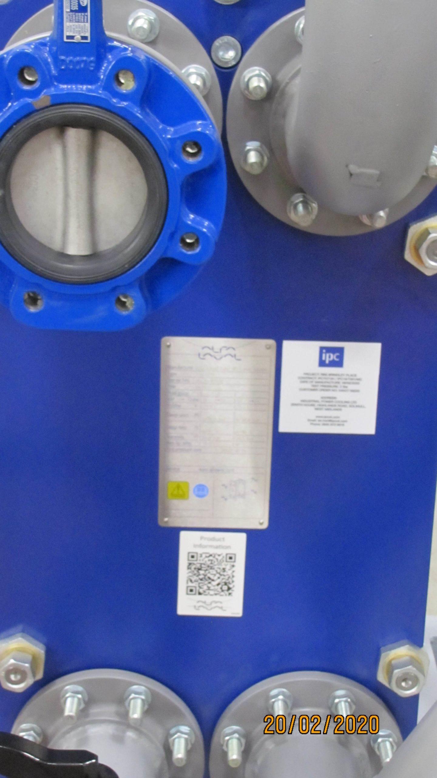 remote radiator AVK Himoinsa Gen low-level cooling system