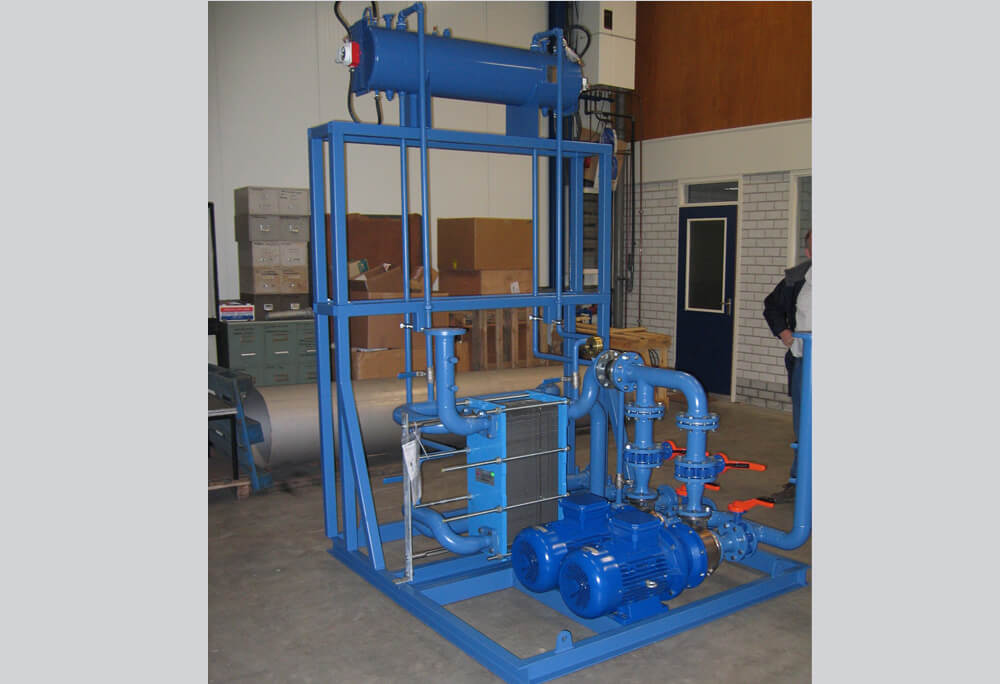 Thames water industrial sewage cooling solution