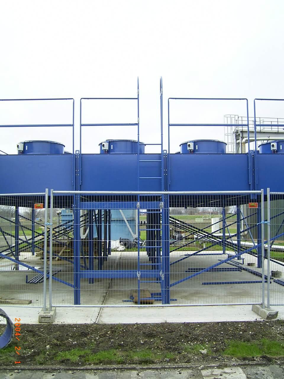 bespoke Sewage Treatment Works cooling solution