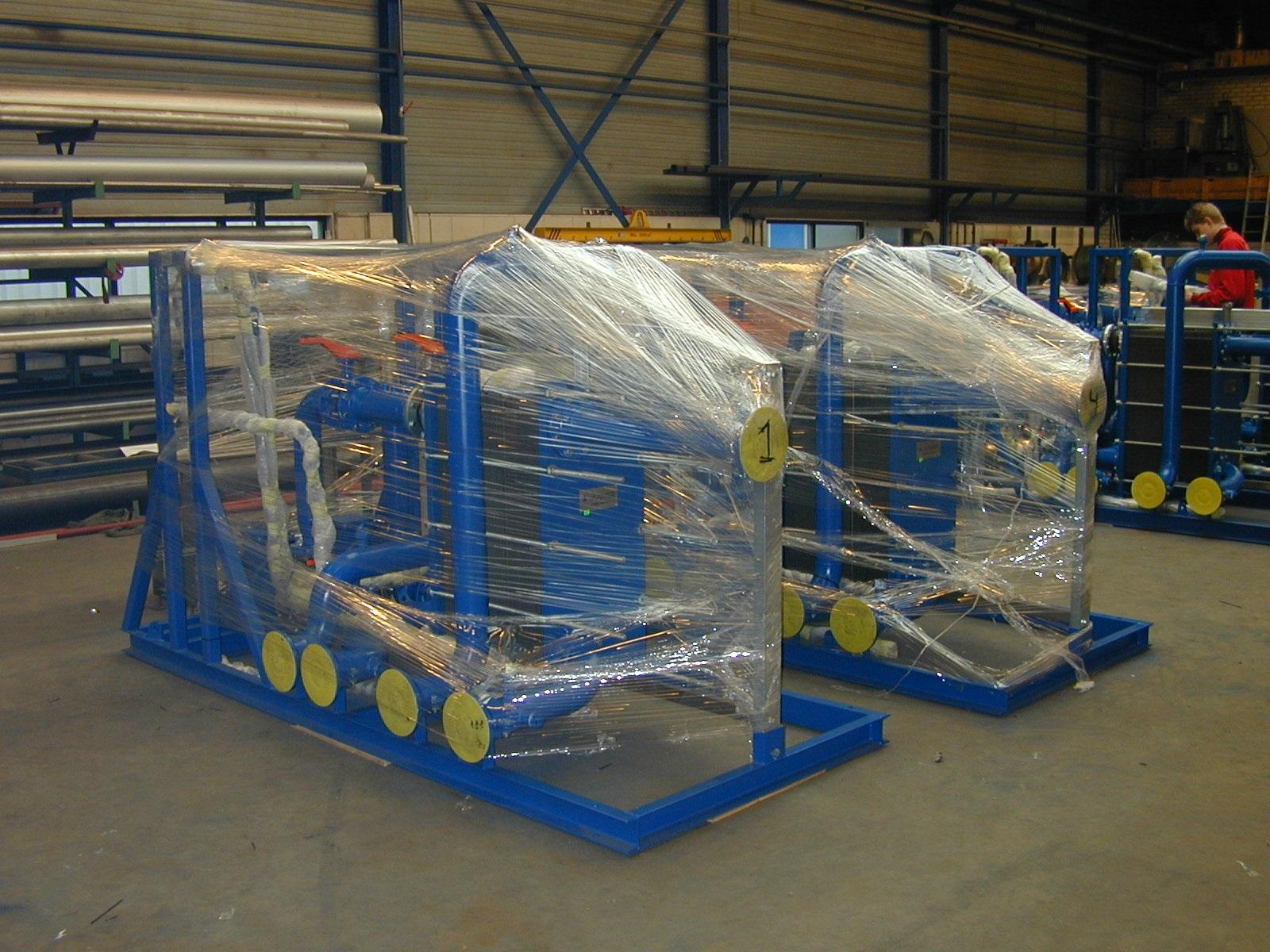 bespoke manufactured sewage treatment cooling solution