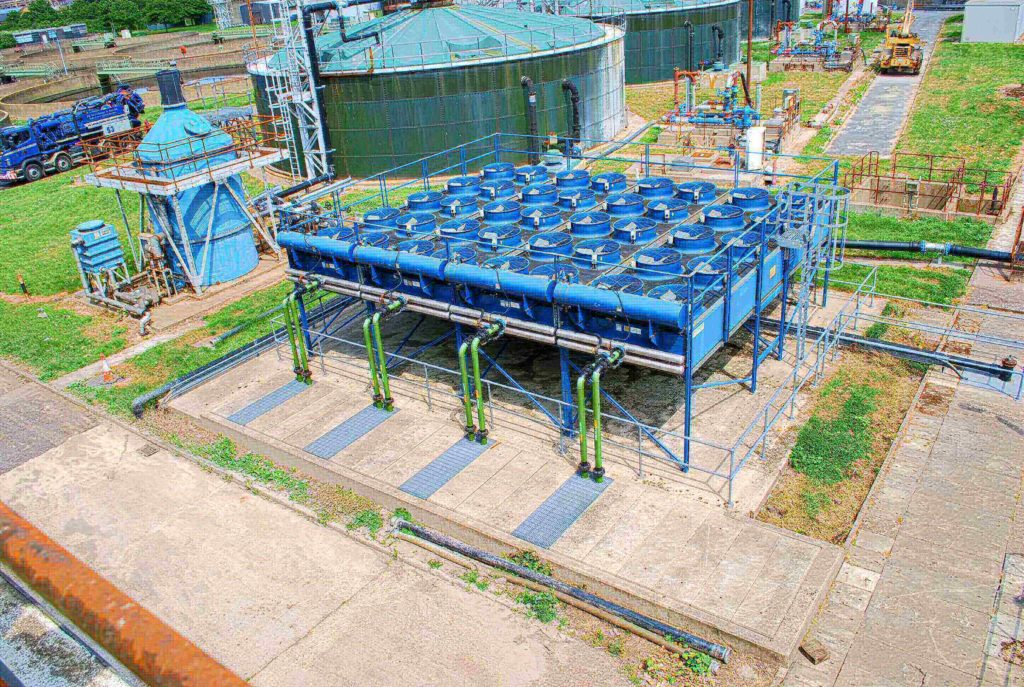Sewage treatment works in partnership with Thames Water