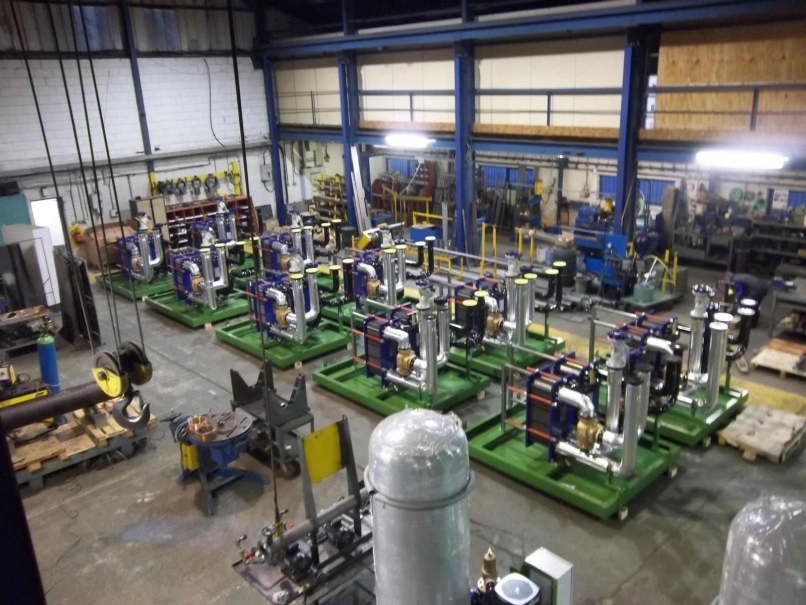 bespoke generator cooling project London