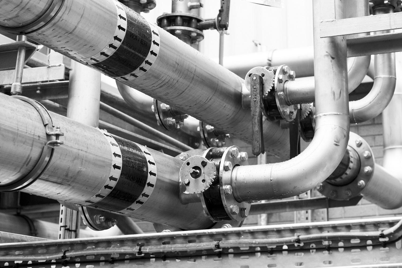 tailored metal pipework installation