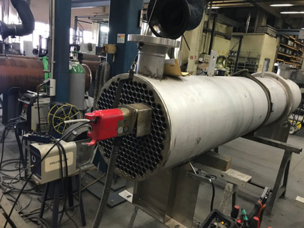 bespoke Exhaust Gas Heat Exchangers with silencers