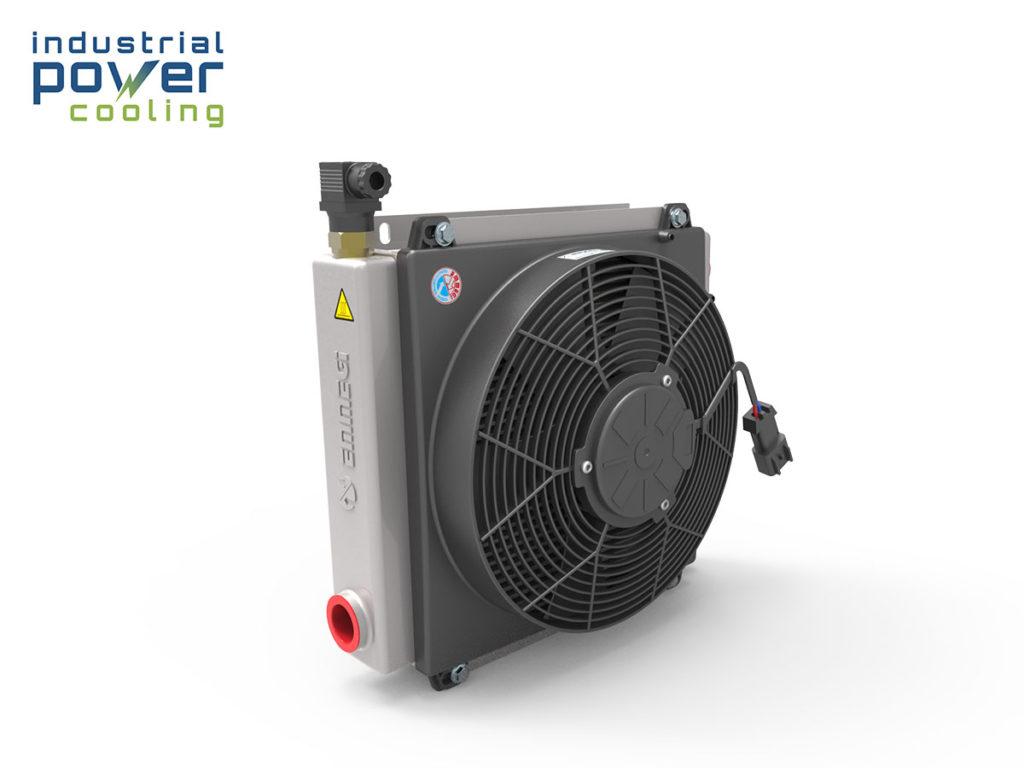 FOC 1 Fuel oil cooler to cool Cummins fuel