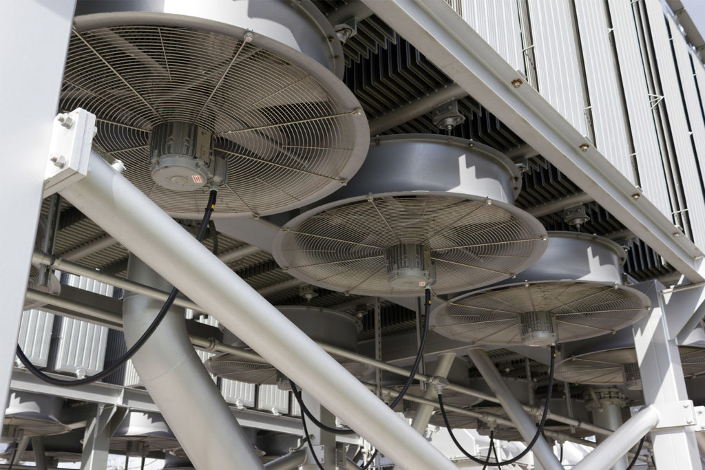 industrial fan General Process Power Cooling System