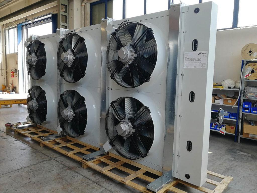 KCE generator cooling solution
