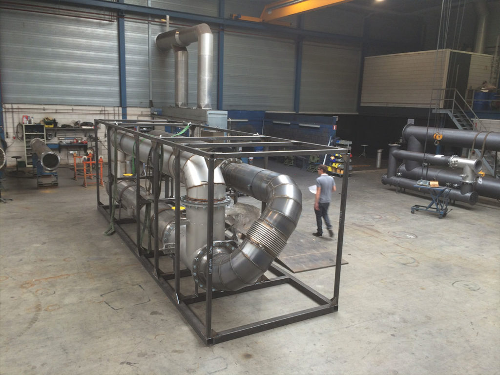 bespoke design and manufacture of Exhaust Gas Heat Exchangers