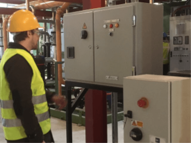 Bespoke electrical control panel for fan control