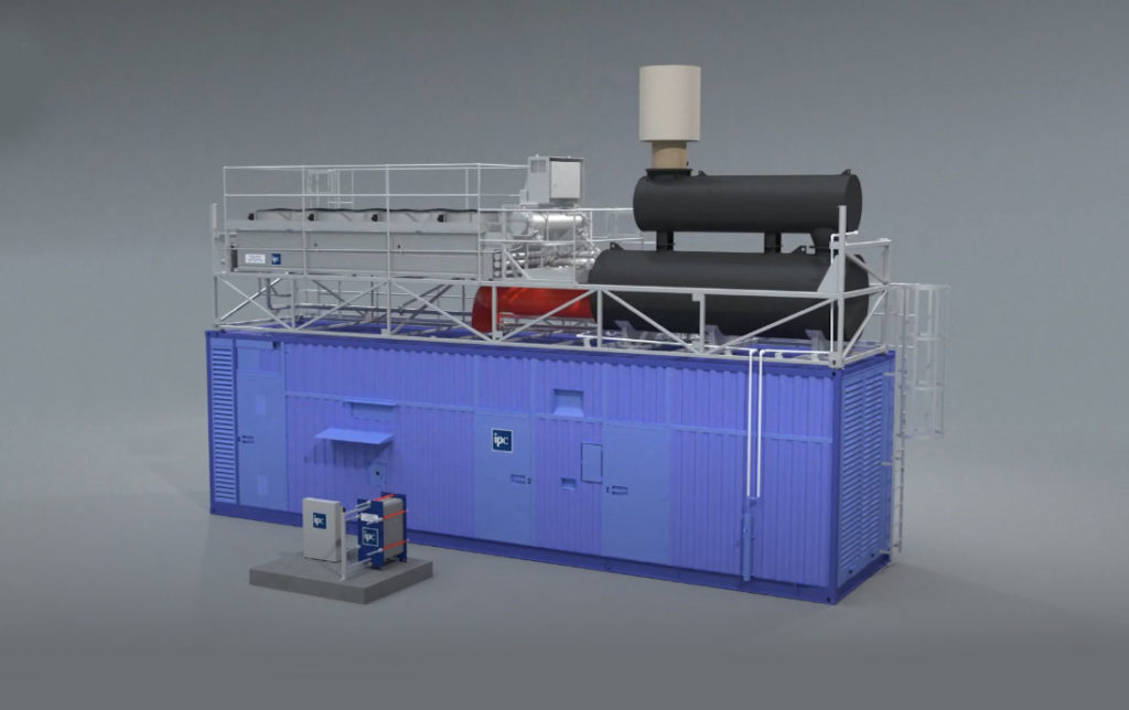 IPCUK container power cooling system