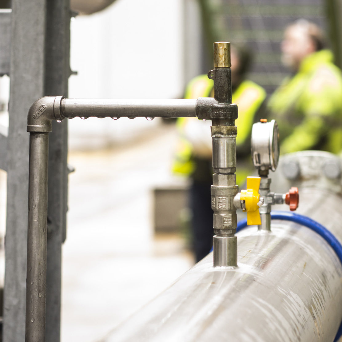 On site pipework installation