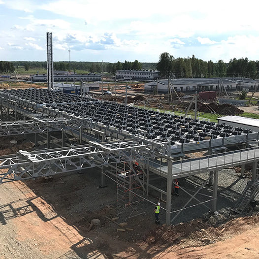 IPC Rolls Royce complete site design and installation
